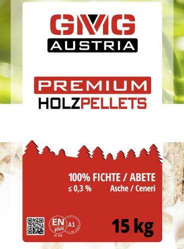 GMG Austria Premium Holzpellets - ENplus A1-