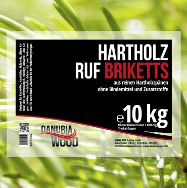 RUF hardwood briquettes-