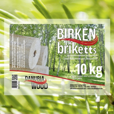 Birkenbriketts-