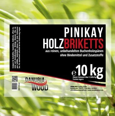 Pinikay briquettes-